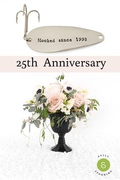Silver anniversary gifts for 25 year anniversary. Silver anniversary gifts for 25 year anniversary. Choose a fishing lure or keychain. Anniversary Gift Baskets, 25 Wedding Anniversary Gifts, Homemade Anniversary Gifts, Anniversary Ideas, Wedding Gifts, Wedding Ideas, Anniversary Wishes For Friends, Traditional Anniversary Gifts, Modern