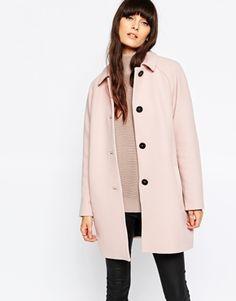 Пальто в стиле 60-х Selected