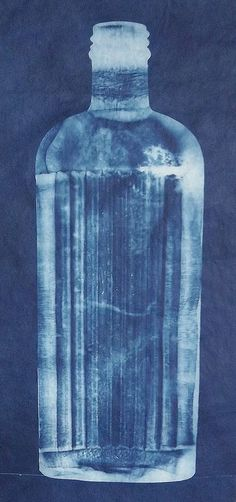 Bottle | Cyanotype of old bottle. | Lynnette miller | Flickr