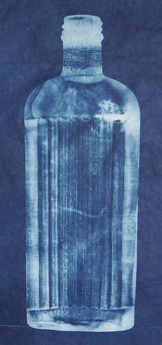 Bottle | Cyanotype of old bottle. | Lynnette miller | Flickr