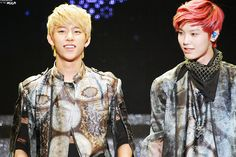 Daehyun Zelo- I love Zelo's hair here! He should keep it this way