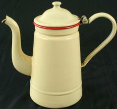 GREAT Vintage French Cream Red Enamel Tea Coffee Kettle EuroLux Home,http://www.amazon.com/dp/B00JCYH1D4/ref=cm_sw_r_pi_dp_WXjqtb07EKKB6X8T
