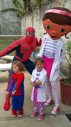 Doctora Juguetes con Spiderman 8831-3232