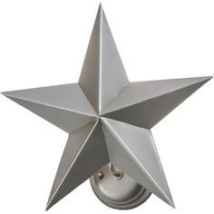 16 Inch W Texas Star Wall Sconce - Custom Made