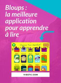 Application iPad | Apprentissage de la lecture | Motivation lecture | Dyslexie | Enfants dyslexiques