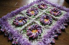 マット編み物