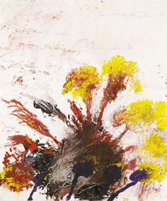 Gouache, Bleistift, Farbstift auf Papier  150 x 126 cm  Foto: Haydar Koyupinar  © Cy Twombly Foundation