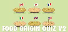 QuizDiva – Food Origin Quiz Answers 2