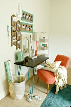 tween girl's desk and vanity - Our Fifth House