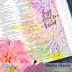 Bible Journaling with The Crafter's Workshop   The Crafter's Workshop Blog