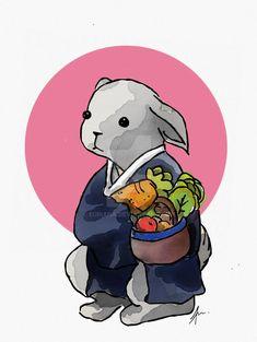 rabbit farmer by euriana on DeviantArt