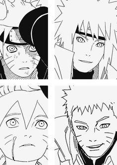 Minato,Naruto y Boruto Itachi, Naruto Uzumaki, Naruto Gaiden, Sarada Uchiha, Shikamaru, Gaara, Naruhina, Minato Kushina, Sasunaru