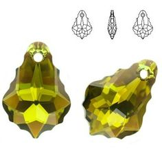 6090 Baroque 16mm Olivine AB  Dimensions: 16,0 mm Colour: Olivine AB 1 package = 1 piece 1 Piece, Baroque, Swarovski, Abs, Colour, Color, Crunches, Abdominal Muscles, Killer Abs