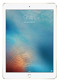 iPad Pro MLMQ2CL/A (MLMQ2LL/A) 9.7-inch (32GB, Wi-Fi, Gold) 2016 Model *** You can find more details by visiting the image link.