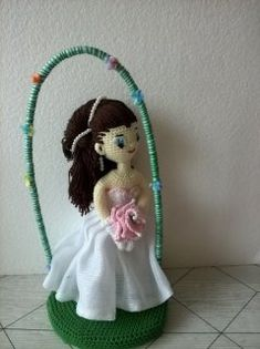 Play Clothing, Cos Play, Movie Collection, Diy Toys, Amigurumi Doll, Weddings, Dolls, Crochet, Brides