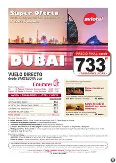 Superoferta DUBAI 7d/6n salida única 28 Febrero Avion+traslados+hotel AD+visita desde 733 euros ultimo minuto - http://zocotours.com/superoferta-dubai-7d6n-salida-unica-28-febrero-aviontrasladoshotel-advisita-desde-733-euros-ultimo-minuto/