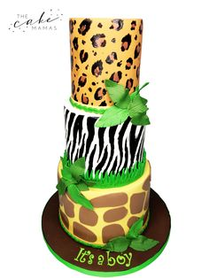 call or email to order your celebration cake today. Safari Baby Shower Cake, Baby Shower Cakes, Baby Boy Shower, Safari Cakes, Cakes Today, Cupcake Wars, Custom Cakes, Cake Art