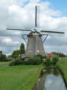 Maasland (Zuid-Holland) - Dijkmolen