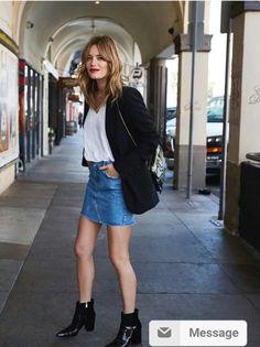 La Modelo Camille Rowe Tiene Un Estilo Para Vestirse Que Vas A Querer Copiar | Cut & Paste – Blog de Moda