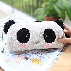 preto e branco bonita tecido panda multiuso carteira (1 pc),