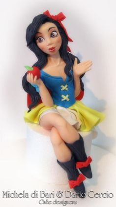 Snowhite my style ♥ Biancaneve ♥ - Cake by Michela di Bari