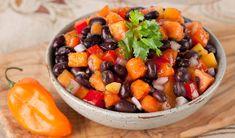 Stefano Faita's  Papaya Black Bean Salsa