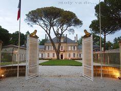 1ª parada, #ChâteauBataylley Commanderie de Madrid de los vinos de #Burdeos #Molyvade...#viaje #GranConseildesVinsdeBordeaux molyvade.blogspot.com