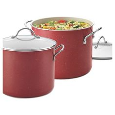 Farberware New Traditions Speckled Aluminum Nonstick Covered Stockpot (12 Qt.) : Target