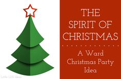 Help your ward remember the reason for Christmas with this wonderful LDS Ward Christmas Activity from Little LDS Ideas. Script and links included.