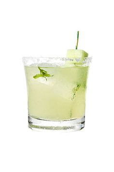 Honeydew-Basil Margarita