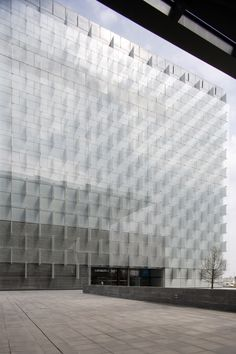 Telefonica Headquarters in Madrid by Rafael de La-Hoz