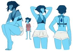 happyds:Lapis in little shorts just cause
