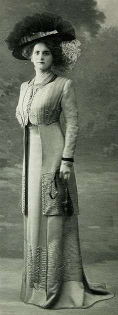Robe daprès-midi 1909 by .pintuck, via Flickr