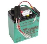 Yuasa 6N6-1B Motorcycle Batteries