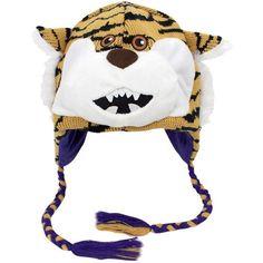 LSU Tigers Mascot Knit Beanie - $18.99