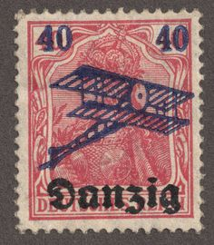 Danzig - german stamp at World War II (I got 1 page of those to sell)