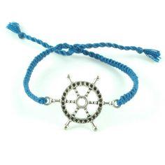 #bransoletka z muliny #makrama na DaWanda.com Friendship Bracelets, Earrings, Silver, Jewelry, Etsy, Ear Rings, Stud Earrings, Jewlery, Jewerly