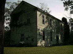 Vanishing Eastern Kentucky: Two-Story School House, Fallsburg, Lawrence County