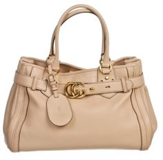 Gucci Leather Running Handbag Tan Tote Bag. Get one of the hottest styles of the season! The Gucci Leather Running Handbag Tan Tote Bag is a top 10 member favorite on Tradesy. Save on yours before they're sold out!