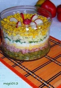 Chicken Egg Salad, Polish Recipes, Polish Food, Family Meals, Salad Recipes, Food And Drink, Cooking Recipes, Pudding, Yummy Food