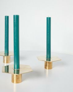 Vintage Brass Candle Holders | Covet + Lou