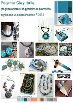 color scheme of the month challenge for/by members of the Italian polymer clay guild https://www.facebook.com/POLYMER-CLAY-ITALIA-115896958438132/
