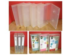 Great way to store your Cricut Cartridges.