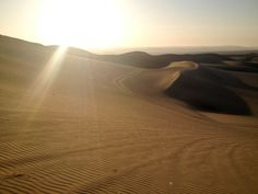 Huacachina - Sand, sand and some more sand..