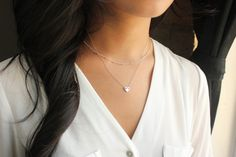 Layering Necklace Layer necklace Layered Necklace by PROJECTDAHLIA