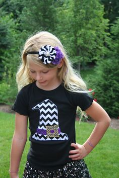 Wicked Witch Hat Shirt, Halloween Shirt, Halloween Shirts for Kids,Toddler… Toddler Halloween Shirts, Halloween Outfits, Holiday Outfits, Halloween Costumes, Holidays Halloween, Halloween Diy, Witch Costumes, Wicked Witch, Diy For Girls
