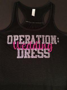Operation Wedding Dress Workout Tank