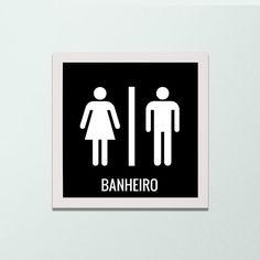 Quadro para banheiro - Decor Quadros - decore com arte!