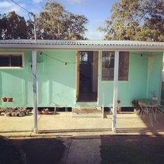 Image result for green fibro cottage