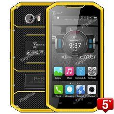 """KENXINDA W7 5"""" HD MTK6735 Quad-core Android 5.1 IP68 Waterproof Dustproof Shockproof 4G Phone"""